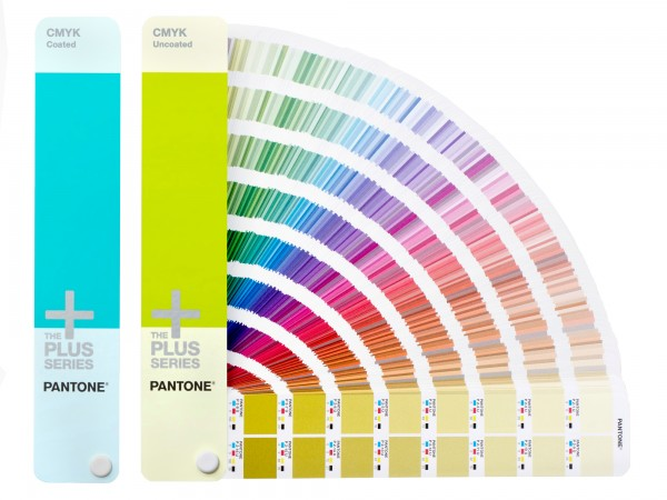 PANTONE® PLUS SERIES CMYK-Farbfächer 2 GUIDE SET coated/uncoated
