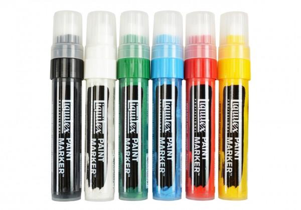 Liquitex Paint Marker, Grundfarben, breit