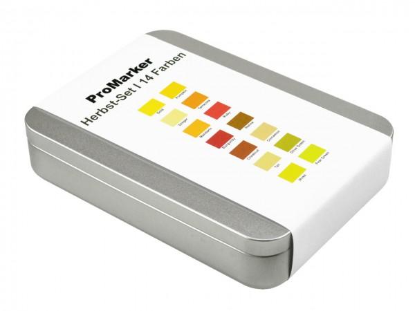 ProMarker von LETRASET® Herbstfarben-Set