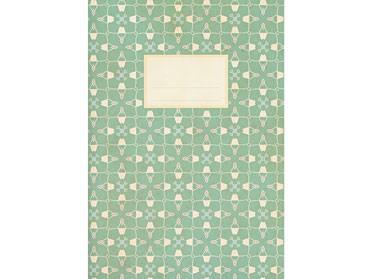 Notizheft mit bedrucktem softem Umschlag / A5 / blanko und liniert