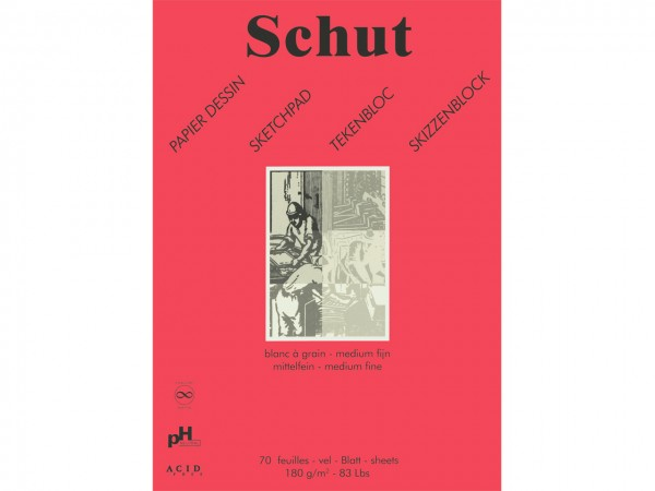 Skizzen / Zeichenblock 180g/m Format A5 (14.8 x 21 cm)