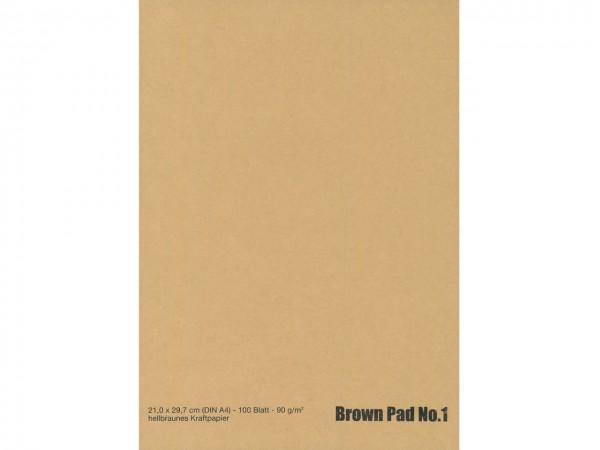 Brown Pad No. 1 / Format A3