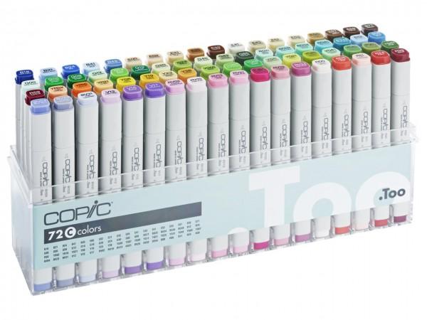 COPIC® Marker, Set C mit 72 Farben