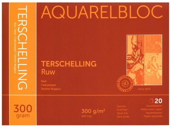 Aquarellblock TERSCHELLING Rauh Format 18 x 24 cm