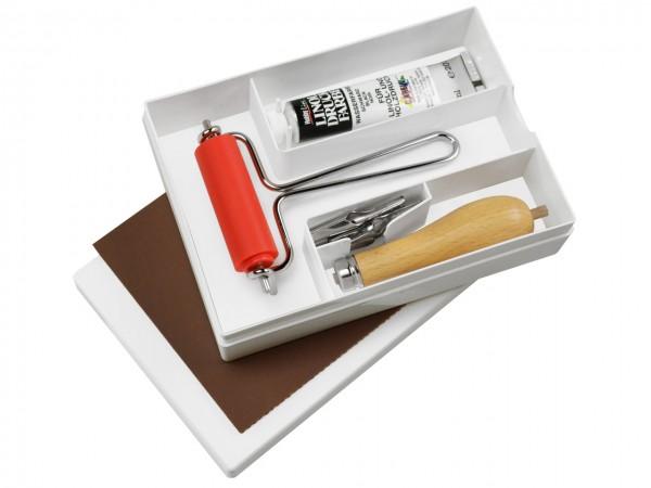 Linol-Schneidewerkzeug-Set