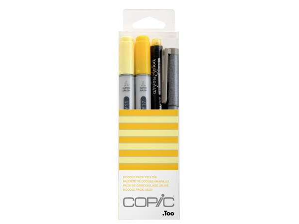 COPIC® ciao Marker 4er Set / Doodle Pack Yellow