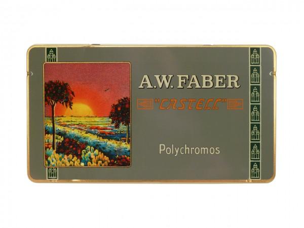 Farbstifte Polychromos, RETRO EDITION Set mit 36 Farben Metallschachtel