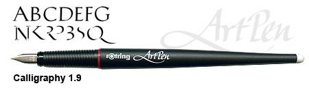 rotring ArtPen Calligraphy 1.9