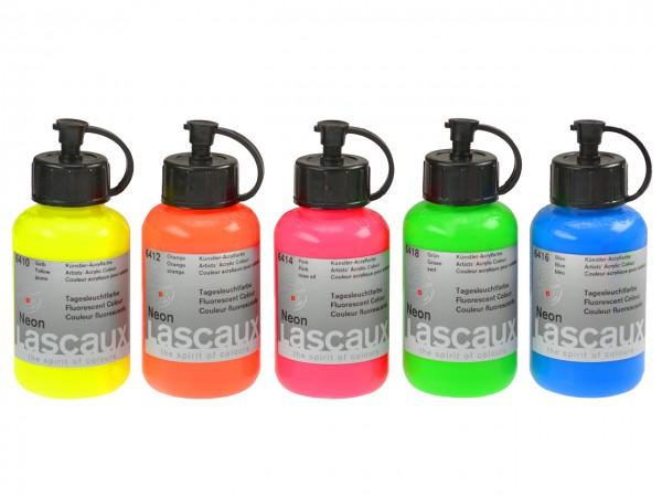 Lascaux Neon Tagesleuchtfarben 85 ml
