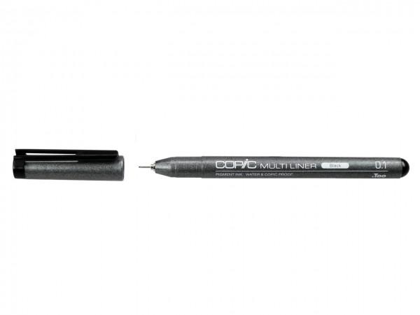 COPIC® MULTILINER schwarz / Strichbreiten 0,03 mm - 1,0 mm