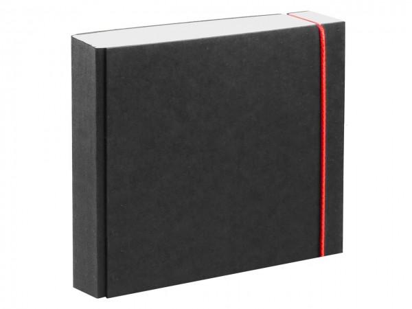 Skizzen-/ Notizbuch schwarz 21 x 21 cm