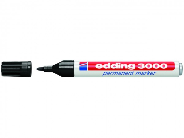 edding permanent marker 3000