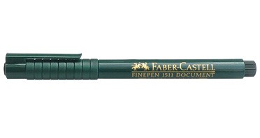 Faber-Castell Finepen 1511 Document