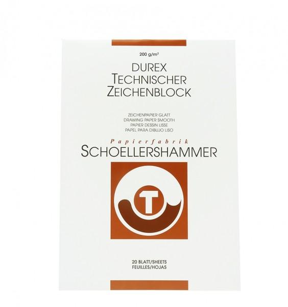 Durex Technisches Zeichenpapier, matt, glatt / A4