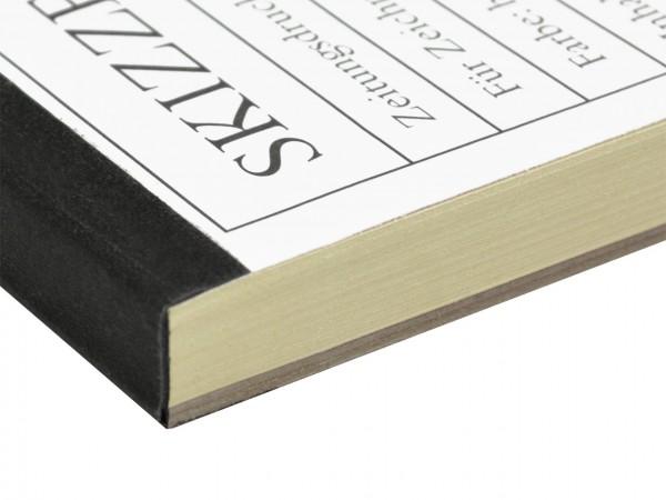 Zeitungsdruckpapierblock A2