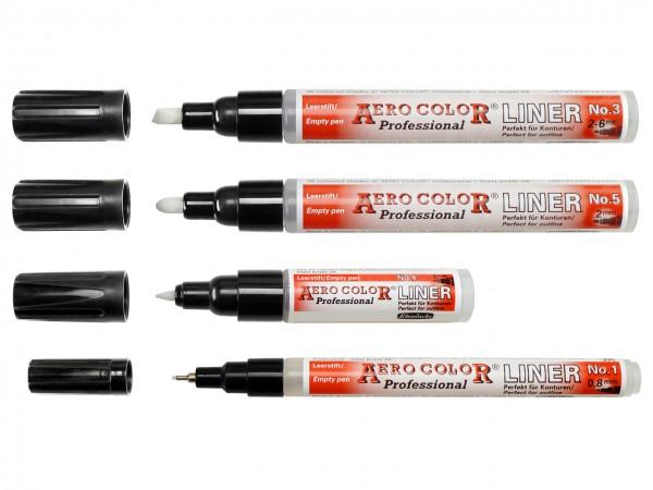 AERO COLOR® Professional Leerstift in 4 Breiten