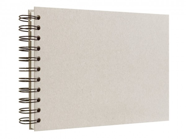 Skizzenbuch mit Spiralbindung / A6 / quer