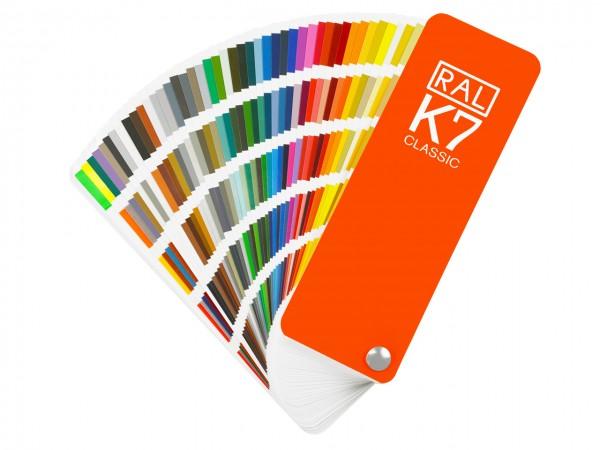 RAL CLASSIC K7 Farbfächer / glanz