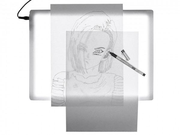 LED-Leuchttisch von COPIC®, Comic Master Tracer A4