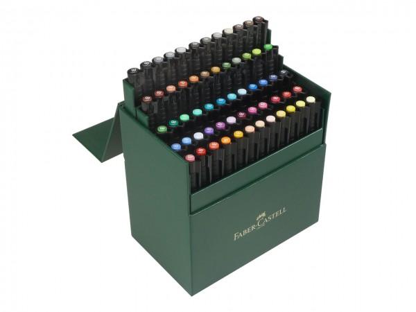 Faber-Castell PITT artist pen Brush Atelierbox mit 60 Farben