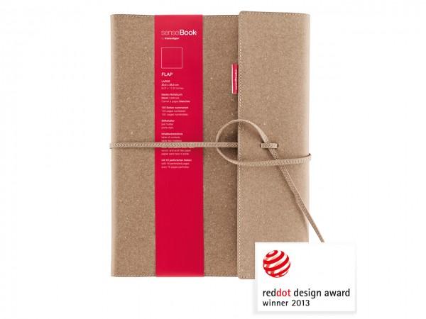 senseBook FLAP / Notizbuch, medium