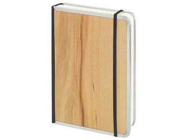 Notizbücher mit Metallkante / 12 x 16,5 cm