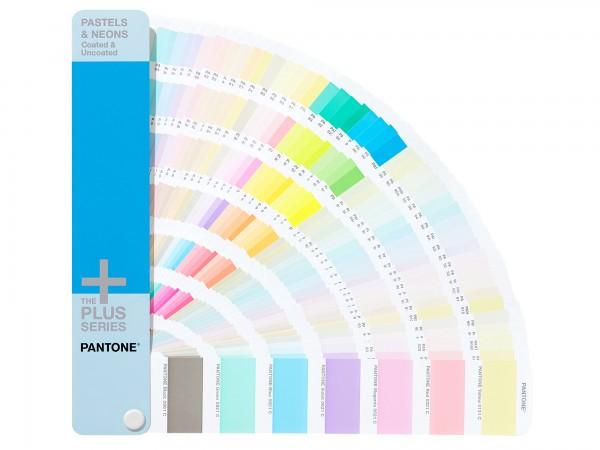 PANTONE® PLUS SERIES PASTELS & NEONS GUIDE coated/uncoated