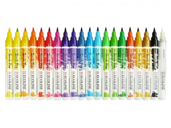 Ecoline Brush Pen 20er Set