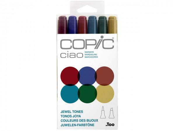 COPIC® ciao Marker 6er Set / Jewel Tones