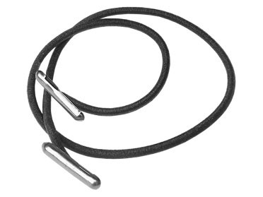 Gummizugschnur mit Metallenden für A4