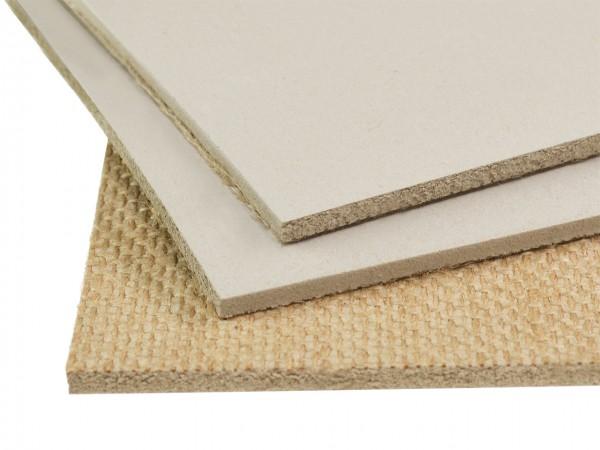 Linoleum Platten grau A4 (21 x 29,7 cm) Dicke 4,5 mm