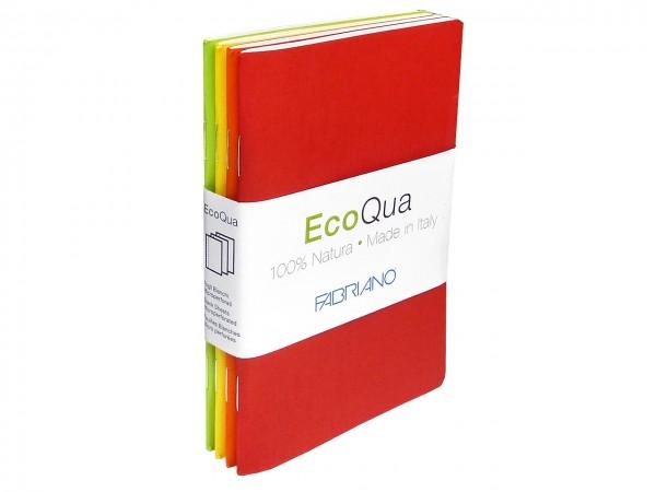 Fabriano® EcoQua / Notizhefte im Taschenformat 9 x 14 cm