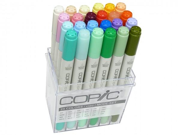 COPIC® ciao Marker, Set mit 24 Modefarben