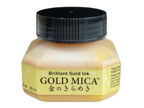 Gold Mica Ink 60 ml, von Kuretake