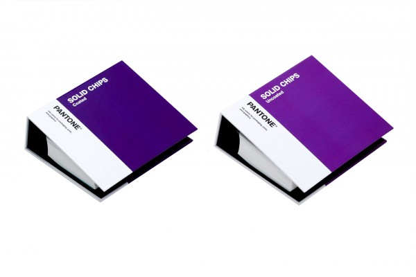 PANTONE® PLUS SERIES SOLID CHIPS Two-Book Set coated / uncoated