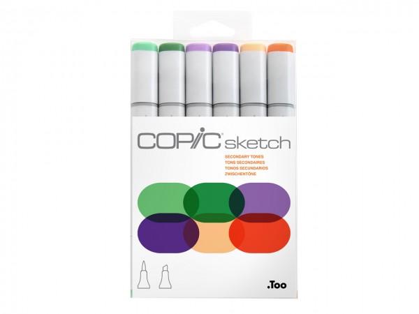 COPIC® sketch Marker 6er Set / Secondary Tones