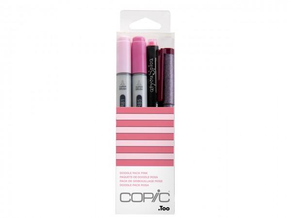 COPIC® ciao Marker 4er Set / Doodle Pack Pink