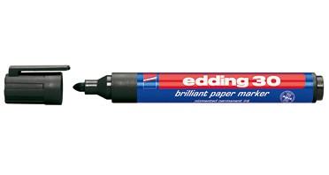 edding brilliant paper marker 30