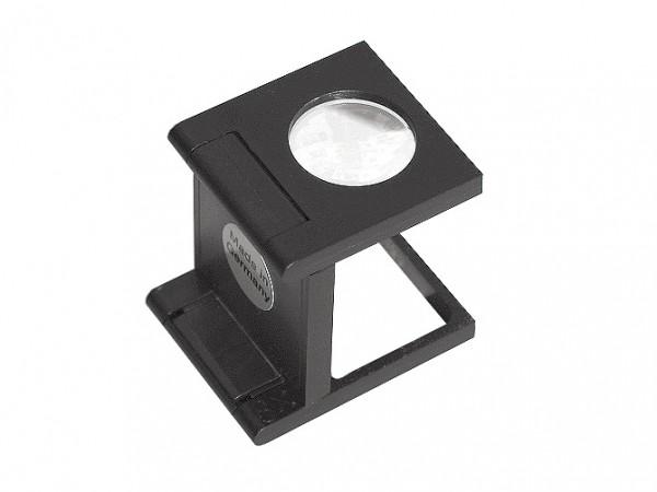 Fadenzähler 8-fach aus schwarzem Kunststoff