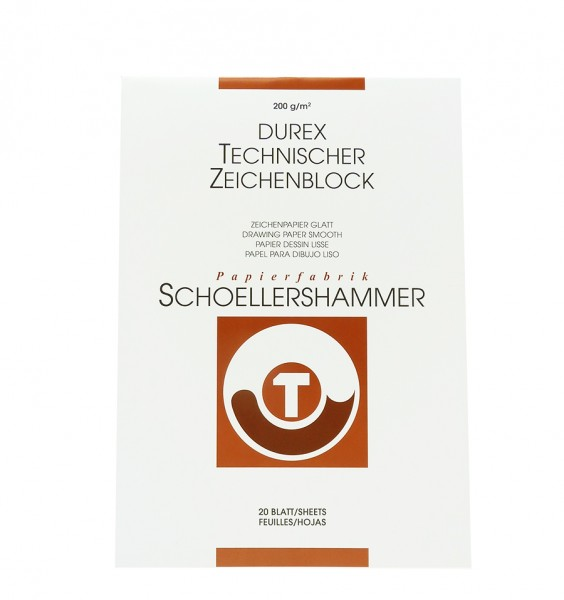 Durex Technisches Zeichenpapier,matt, glatt / A3