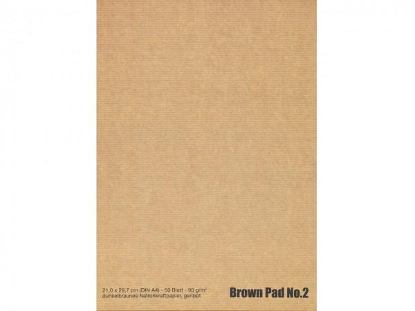 Brown Pad No. 2 / Format A4