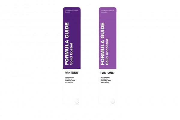 PANTONE® PLUS SERIES FORMULA GUIDE SET coated/uncoated