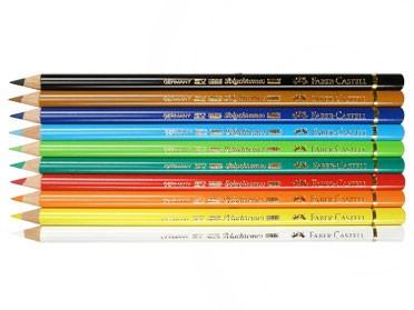 Unser Farbstift-Set mit 10 Grundfarben