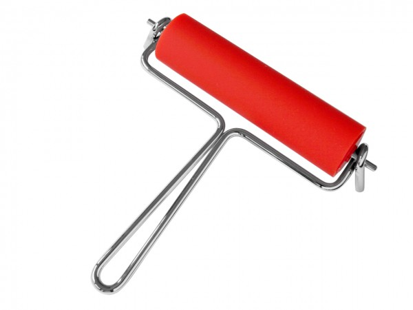 Anpresswalze rot, Rollenbreite 15 cm