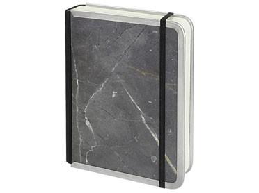 Notizbuch mit Metallkante / 9 x 13 cm