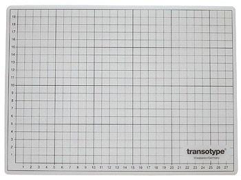 Schneidematte transparent 22 x 30 cm