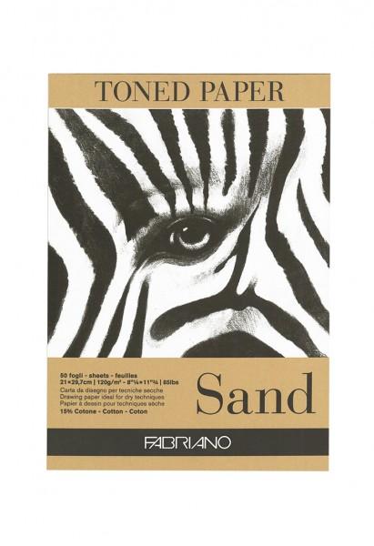 Zeichenpapier Sand / Format A4