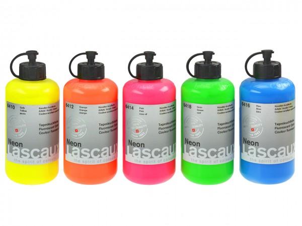 Lascaux Neon Tagesleuchtfarben 250 ml