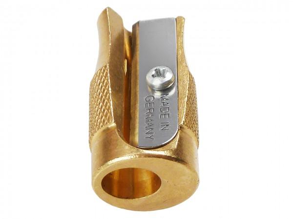 Pollux Handspitzer 801 aus Messing, für konkave Spitzen