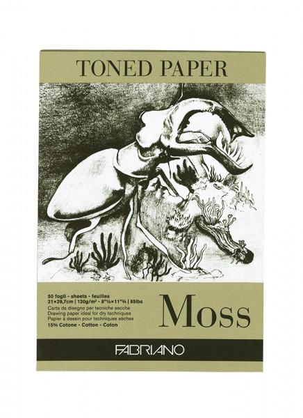Zeichenpapier Moss / Format A4